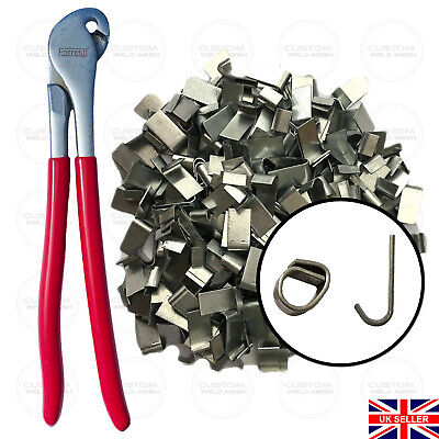 £44.99 • Buy Wire Mesh J-clips Cage Making Clips Aviaries Fencing Poultry Avairy UK Made Clip