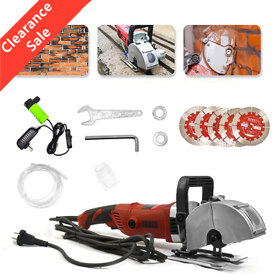 $132.79 • Buy 3600W Wall Groove Cutting Machine 42mm Electric Wall Chaser Slotting Machine New