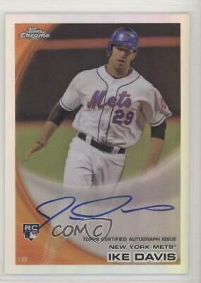 $6.23 • Buy 2010 Topps Chrome Refractor /499 Ike Davis #184 Rookie Auto