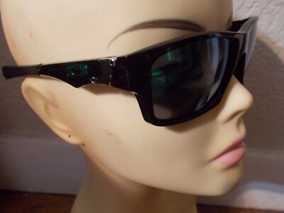 1f71fe6894 OAKLEY Jupiter Squared OO9135-05 Polished Black Frame Jade Iridium  Sunglasses • 41.00