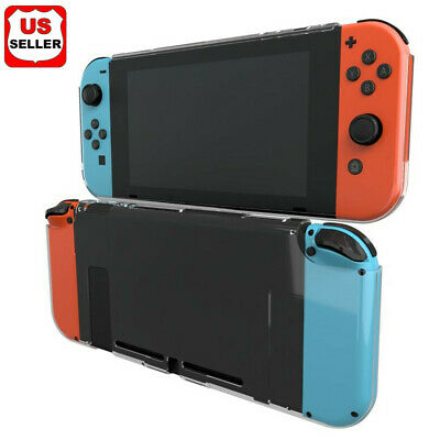 $7.88 • Buy For Nintendo Switch Dockable Slim Rubberized Snap On Hard Protective Case Cover