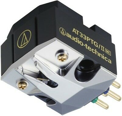 Audio Technica AT33PTG/II MC Phono Cartridge Moving Coil Turntable High Quality • 478£