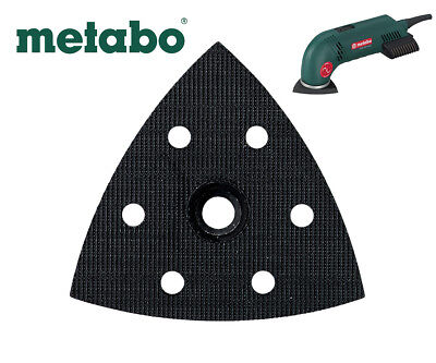 METABO DSE 300 SANDER 90mm X 90mm REPLACEMENT BASE / PAD 624992000 4007430072818 • 14.14£