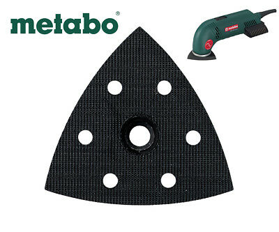 METABO DSE 300 SANDER 90mm X 90mm REPLACEMENT BASE / PAD 624992000 4007430072818 • 10.85£