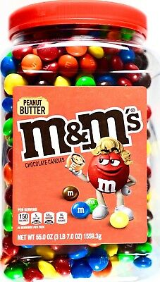 $24.58 • Buy M&M's Peanut Butter Chocolate Candies Pantry-Size, 55 Ounces