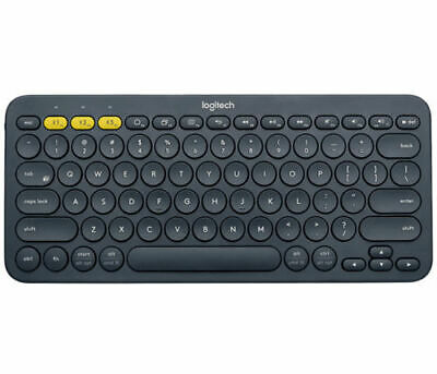 AU79.55 • Buy Logitech K380 Multi-Devices Bluetooth Black Keyboard For IOS Android Laptop