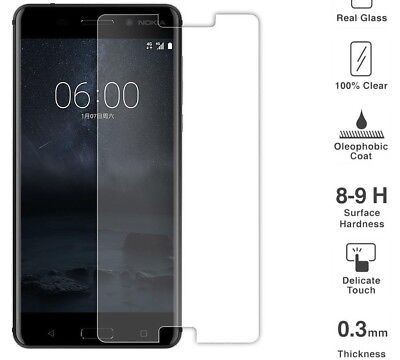 AU2.84 • Buy Nokia 7.1 Plus High Quality Premium  Tempered Glass Screen Protector(new Model)
