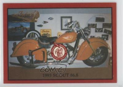 $1.38 • Buy 1993 Indian Motorcycle Trading Cards Series 2 Scout 868 #11 0t0