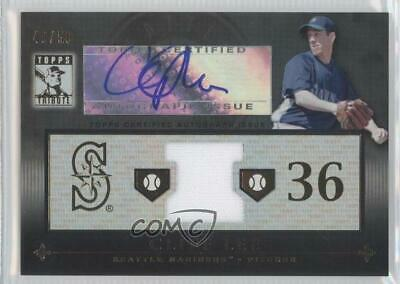 $17.79 • Buy 2010 Topps Tribute Relic Black /50 Cliff Lee #TAR-CL2 Auto