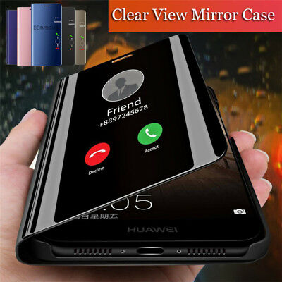 $4.99 • Buy For Xiaomi Mi 9T 8 9 Lite A3 A2 Note 10 MIX 3 Smart Mirror View Flip Case Cover