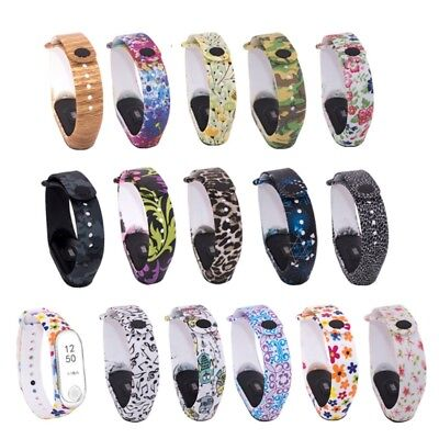 AU4.39 • Buy Newest Colorful Replacement Silicone Wrist Strap Watch Band For Xiaomi MI Band 3
