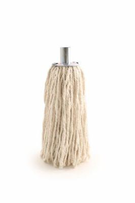£4.79 • Buy Pure Yarn Cotton Mop Head With Galvanised Metal Socket Fitting - 14 PY