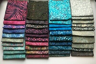 Batik Fabric Fat Quarters, FQ , Multi-buy Discount • 3.20£