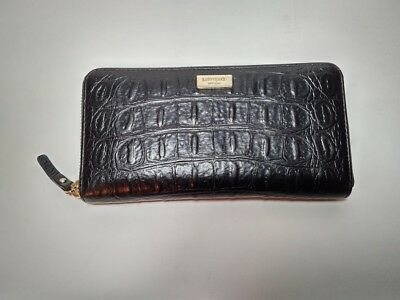 $ CDN120 • Buy Kate Spade Neda Rialto Place Crocodile Embossed Leather Clutch, Wallet  New