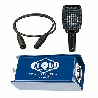 $299 • Buy Cloud Microphones CL-1 Cloudlifter Bundle With Sennheiser E906 And Mogami Cable