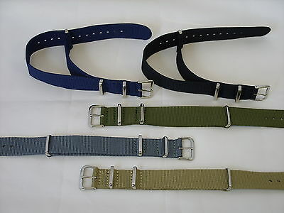 £7.99 • Buy Strong Canvas Military Army NATO MOD Style Watch Strap Band For G10 CWC Pulsar