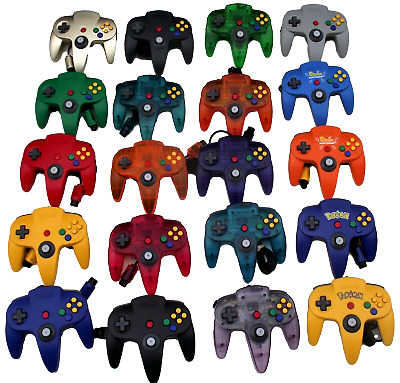 AU49.90 • Buy Genuine Nintendo 64 N64 Controller Refurbed Toggle Ultimate Dropdown Selection