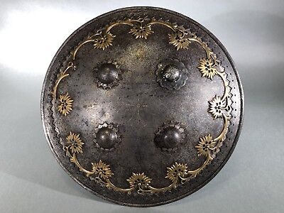 $1165 • Buy Antique Indo-Persian Shield. 19th Century. Armor. Not Knife, Sword