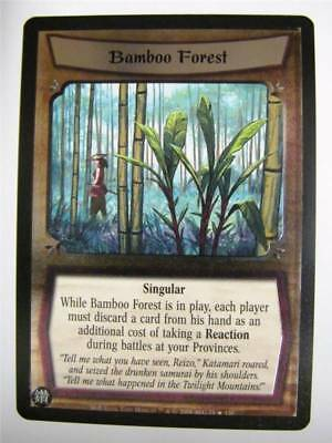 L5R CCG: BAMBOO FOREST 75/156 Foil: Wrath Of The Emperor • 1.29£