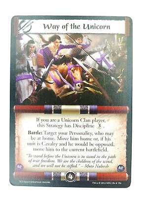 L5R CCG : Way Of The Unicorn FOIL : A Coming Storm • 4.50£