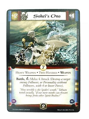 L5R CCG : Sohei's Ono : A Coming Storm • 3.25£