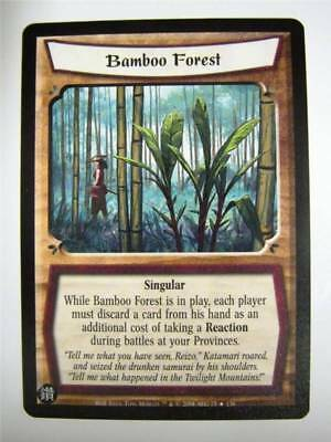 L5R CCG: BAMBOO FOREST 75/156: Wrath Of The Emperor • 1.29£