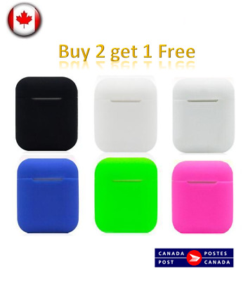 $ CDN5.49 • Buy Apple Airpods Case Cover Silicone Protective Skin For Apple Airpod Charging Case