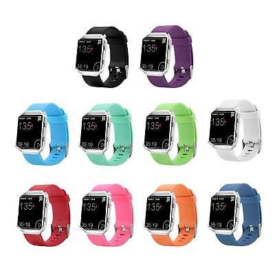 $ CDN9.19 • Buy Replacement Silicone Rubber Band Strap Wristband Bracelet For Fitbit Blaze