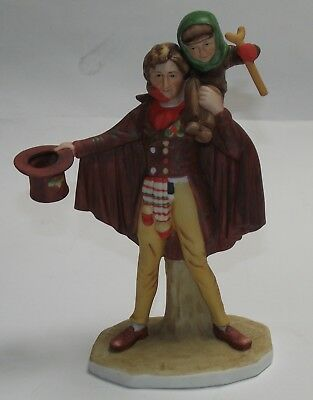 $ CDN27.24 • Buy VG++ 1974 Gorham Norman Rockwell Tiny Tim Porcelain Figurine Christmas   B