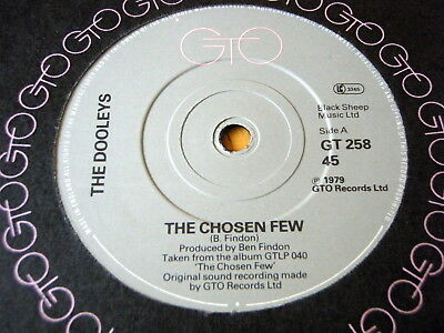 The Dooleys - The Chosen Few  7  Vinyl • 3.49£