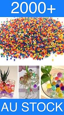AU3.25 • Buy 2000+ Orbeez Mixed Colours Crystal Water Plant Beads Bio Hydro Gel Ball 🇦🇺