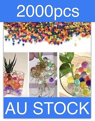AU4.90 • Buy 2000 Mix Colours Orbeez Ball Bio Hydro Gel Water Beads Plant Bullet Home Garden