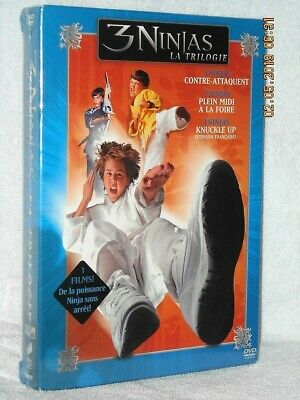 $ CDN93.09 • Buy 3 Ninjas The Triolgy (DVD, 2005) NEW Victor Wong Max Elliott Slade Hulk Hogan