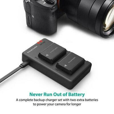 $ CDN152.85 • Buy NP-FW50 RAVPower Camera Batteries Charger Set For Sony A6000 Battery, A6500, A63