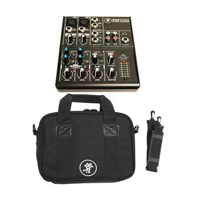 $99.99 • Buy Mackie 402VLZ4 4-Channel Ultra-Compact Mixer + Mackie Bag For 402-VLZ3 Mixer Kit