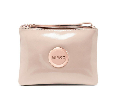 AU44.99 • Buy Mimco Pancake Patent Leather Medium Pouch Wallet • RRP 99.95