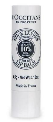 L'occitane En Provence Ultra Rich Lip Balm 0.07 Oz Sealed • 10.72£