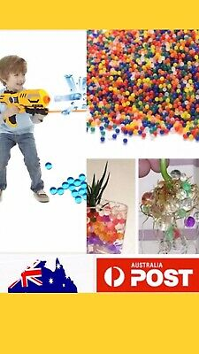 AU3.79 • Buy 1000pcs Orbeez Mixed Colours Crystal Water Plant Beads Bio Hydro Gel Ball Garden