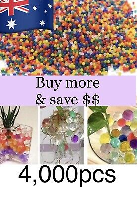 AU5.99 • Buy 4,000 🇦🇺orbeez Ball Home Garden Plant Wedding Decorating Party Gel Party