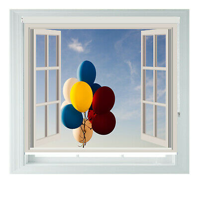 Balloons Window UP Printed Photo Black Out Roller Blinds 2 3 4 5ft • 65£