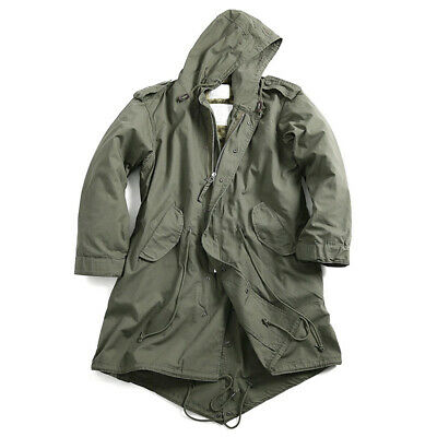 $89 • Buy M51 Field Jacket Parka Coat With Acrylic Pile Liner.