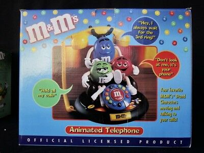 $69.99 • Buy M & M's  Animated Telephone  -  Colorful  -  In Box   #1