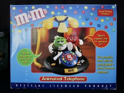 $69.99 • Buy M & M's  Animated Telephone  -  Colorful  -  In Box   #2
