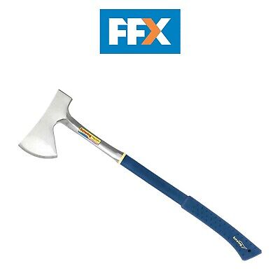 Estwing E45A Long Campers Axe Hatchet Hand Axe Shock Reduction Handle Chopping • 60.40£