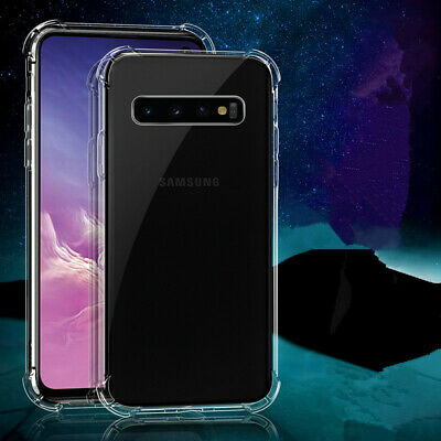 $ CDN7.99 • Buy Luxury Clear Case For Samsung Galaxy S20 S10 S9 S8 Plus N10 Silicone Back Case
