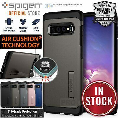 AU34.99 • Buy For Galaxy S10/S10e/S9/S8/Plus Case SPIGEN Tough Armor Shockproof Hard Cover