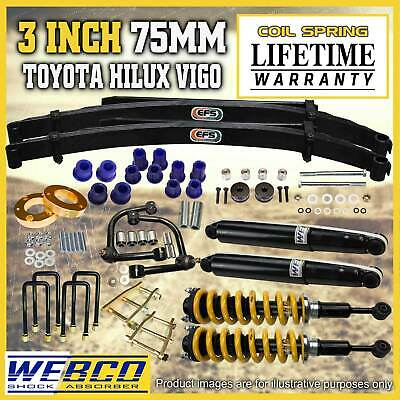 AU1695 • Buy 3 Inch Pre Assembled Lift Kit EFS Leaf Control Arm For Toyota Hilux KUN26 GGN25