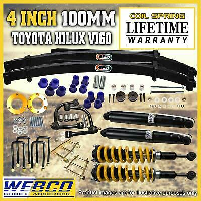 AU1759 • Buy 4 Inch 100mm Pre Assembled Lift Kit Control Arm For Toyota Hilux KUN26 GGN25
