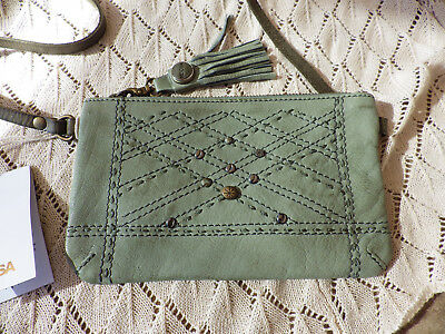 AU99 • Buy Noosa Amsterdam Oshun Small Bag Sage Green Crossbody