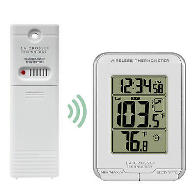 $19.95 • Buy T83622 La Crosse Technology Wireless Weather Station Thermometer With TX141-BV2